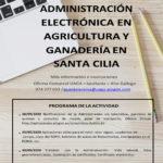 Curso de Administración Electrónica en Agricultura y Ganadería en Santa Cilia